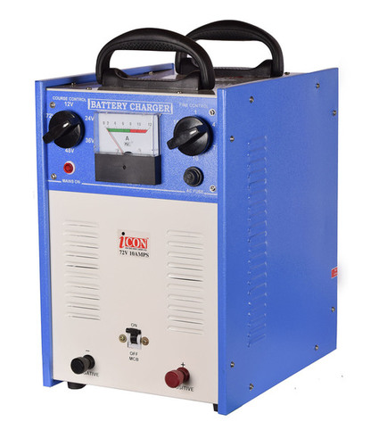 Industrial digital battery charger