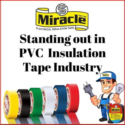 Multicolour Miracle Electrical Insulation Tape