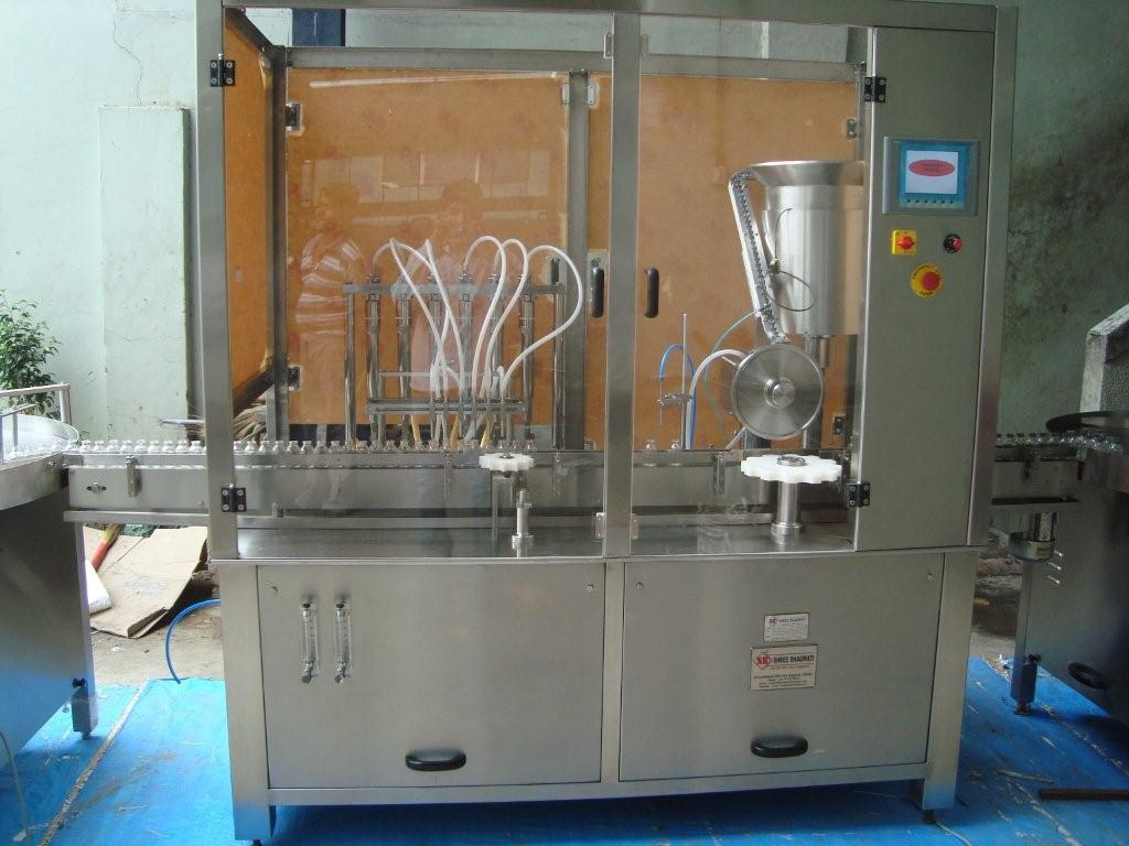 Dry Injectable vial Powder Filling machines