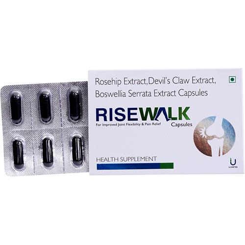 Rosehip Extract, Devil's Claw Extract, Boswellia Serrata Extract Capsules