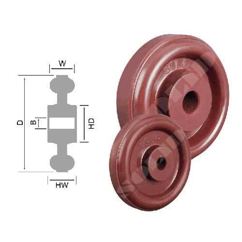 UHMW PE Wheels