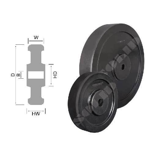 Uhmw-Ppe Wheels