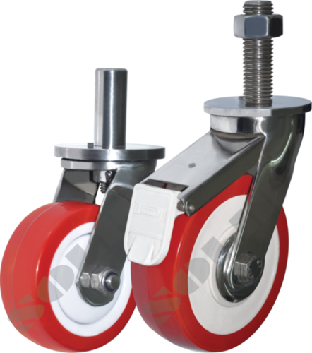 Heavy Duty Pin or Stud Type ( SS ) Stainless Steel Casters
