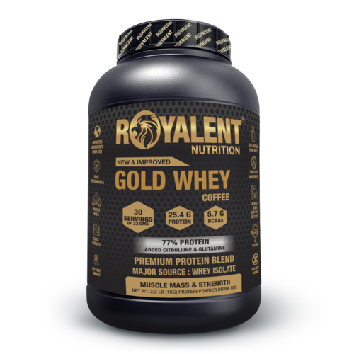 1kg Coffee Whey Protein