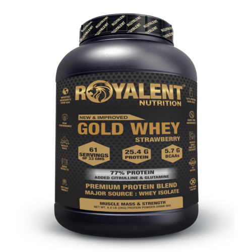 2kg Strawberry Flavored Whey Protein