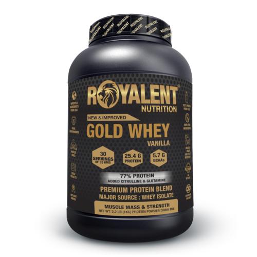 1kg Vanilla Whey Protein