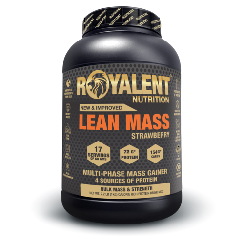 Strawberry Lean Mass Gainer