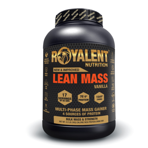 1kg Vanilla Lean Mass Gainer
