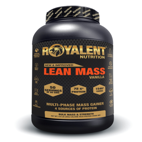 3kg Vanilla Lean Mass Gainer