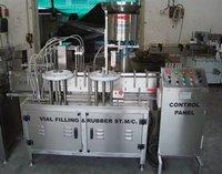 Six Head Vial Filling Machine