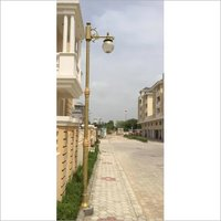 BP-10 Iron Lamp Post