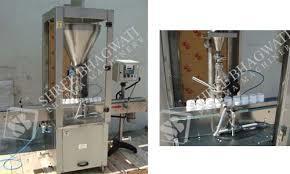 Rotary Monoblock Dry Syrup Powder Filling Machine