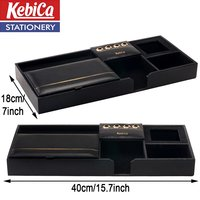 Faux Leather Desk Organizer (604)