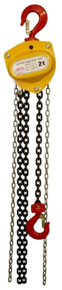 LIFTIT High Speed and Low Effort Chain Pulley Blocks 2 tons SWL