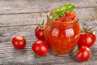 Freshly tomato puree