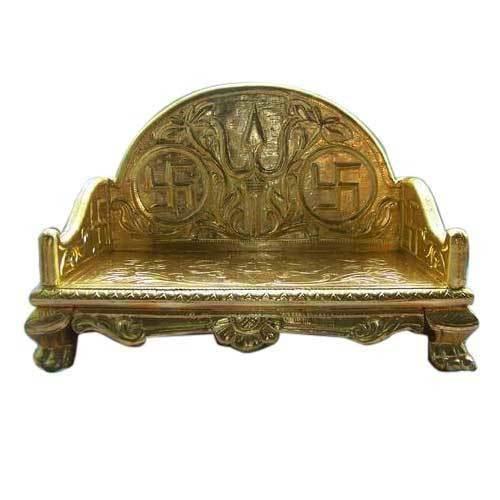 Gold Coated Bethak Sinhasan