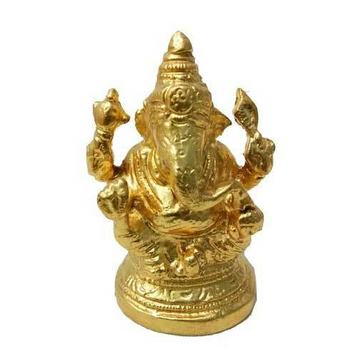 Gold Plated Ganeshji