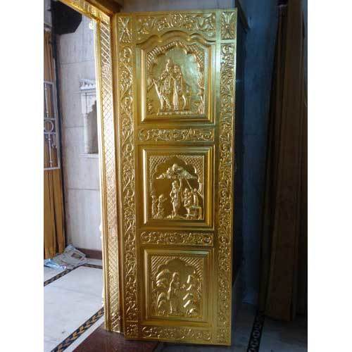 Gold Leafing On Door