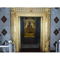 Gold Mounted Doors