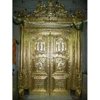 Gold Plated Doors