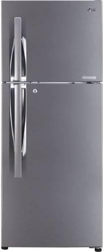 Shiny Steel Lg 260 L Frost Free Double Door 4 Star Refrigerator