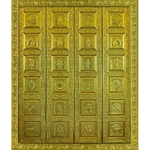 Gold Leafing Doors