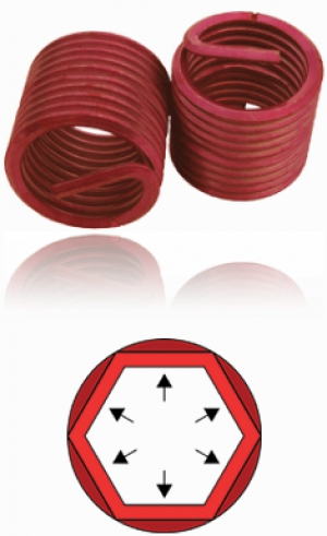 BaerCoil Screw Grip locking thread inserts