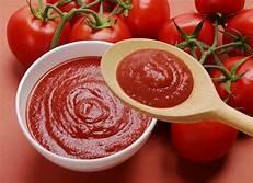 Delicious tomato puree
