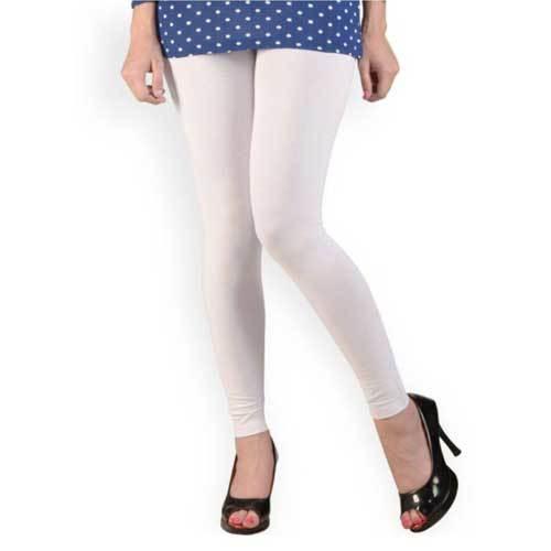 Ladies White Legging