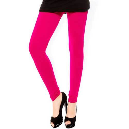 Ladies Magenta Legging