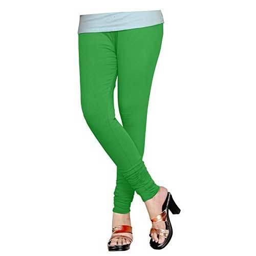 Ladies Green Legging