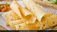 Mouth watering Papad