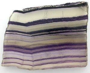Fluorite Stone Slice