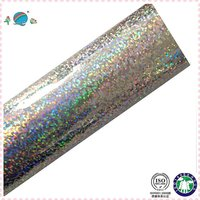 glitter on mirron silver background foil