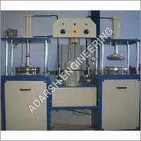 Manual Paper Plate Making Machine