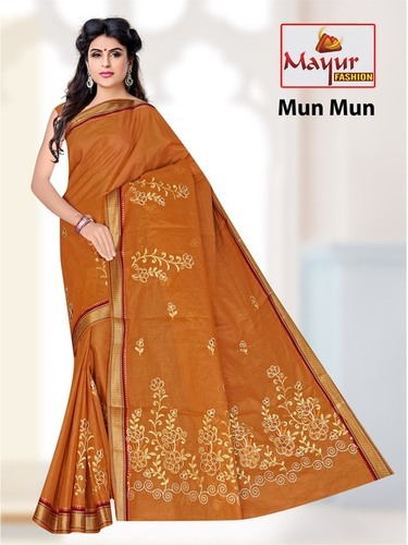 Mun Mun Embroidery Saree
