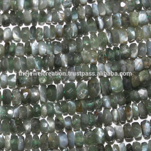 Alexandrite Stone Faceted Rondelle Beads Natural Gemstone