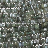 Natural AAA Alexandrite Stone Faceted Rondelle Beads Strand