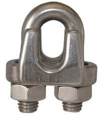 WIRE ROPE CLIPS SS 316