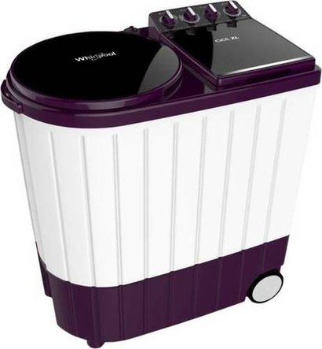 Purple Whirlpool 9.5 Kg Semi Automatic Top Load Washing Machine
