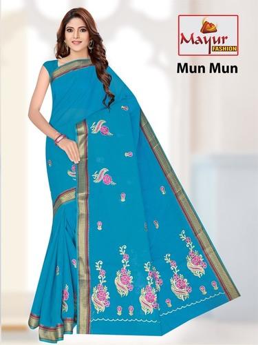 Embroidery Saree Manufacturer
