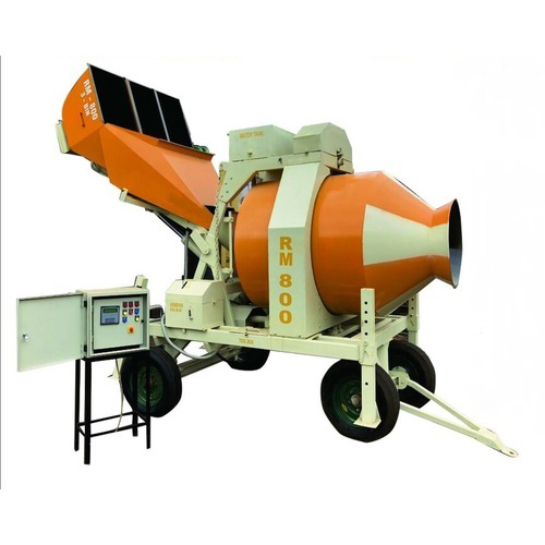 Industrial Reversible Drum Concrete Mixers