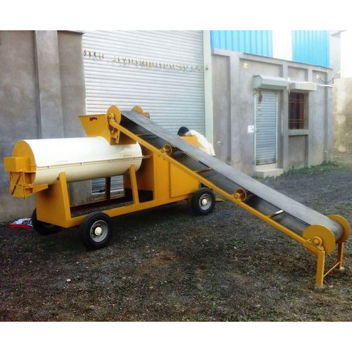 Soil Clay Mixer Machine