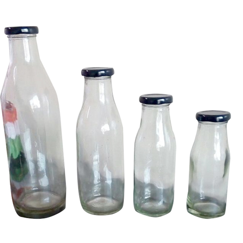 Milk Empty Glass Bottle