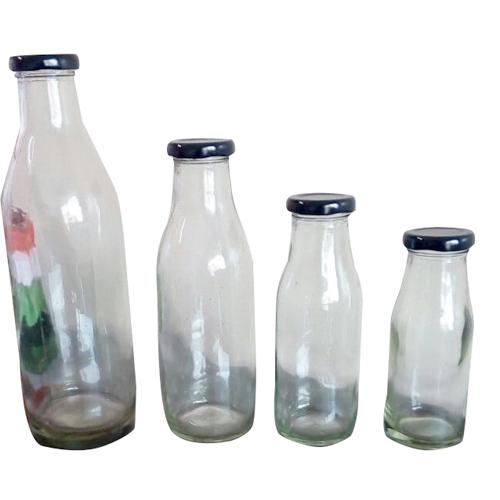 Milk Empty Glass Bottle