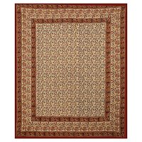 Hand Block Cotton Printed Bagru Print Indian Rajasthani Queen Size Bed Sheet Bedspread Tapestry