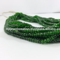 Natural Chrome Diopside Beads For Jewelry Making