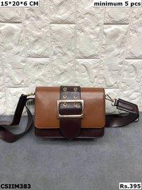 Beautiful pu Sling bag