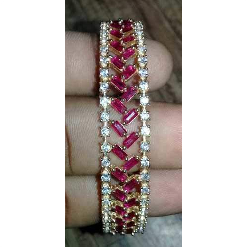 AD Pink Color Bangle Fashion