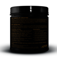 Creatine Monohydrate Health Supplement Jar